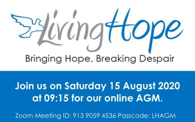 Living Hope AGM – 15 August at 09.15